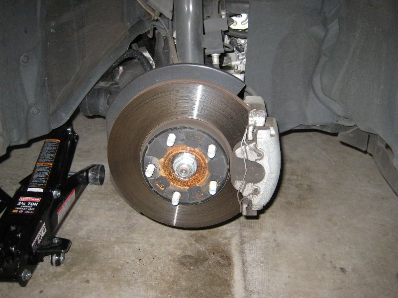 ... 2012 Mazda Mazda3 Front Brake Caliper, Rotor U0026 Bracket   Replacing Pads  | By Paul79uf