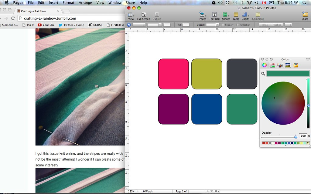Making a Colour Palette