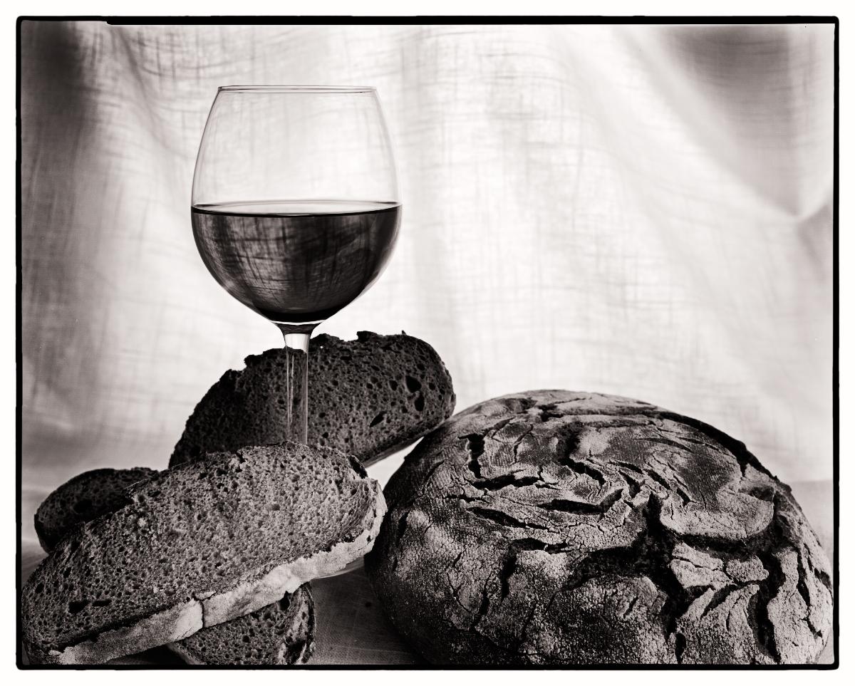 Bread and Wine, 8x10