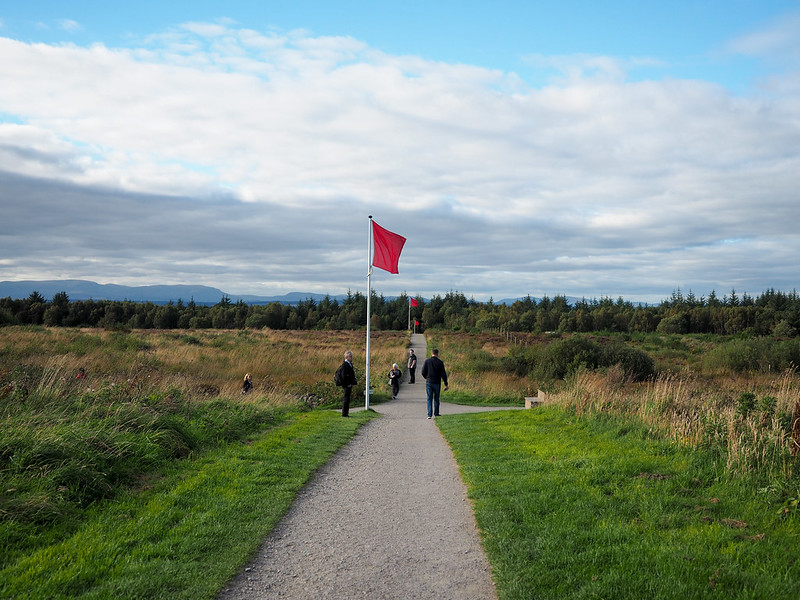 Culloden Battlefield in Scotland