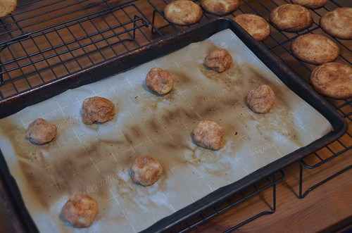 Snickerdoodles, ready to bake