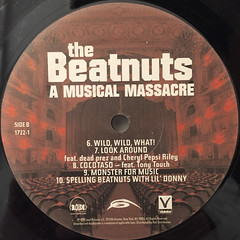 THE BEATNUTS:A MUSIC MASSACRE(LABEL SIDE-B)