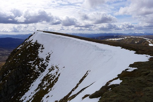 Cornice on Carn Dearg | by Nick Bramhall