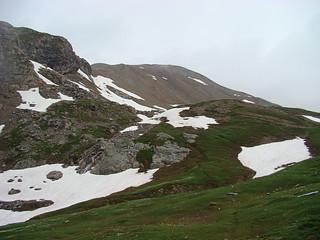 008 Uitzicht op de top van Galibier