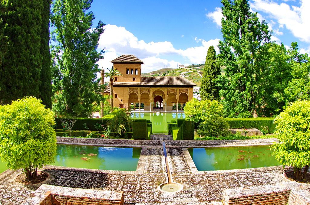 grenade granada 354 les jardins de l alhambra by paspog - Jardin De L Alhambra