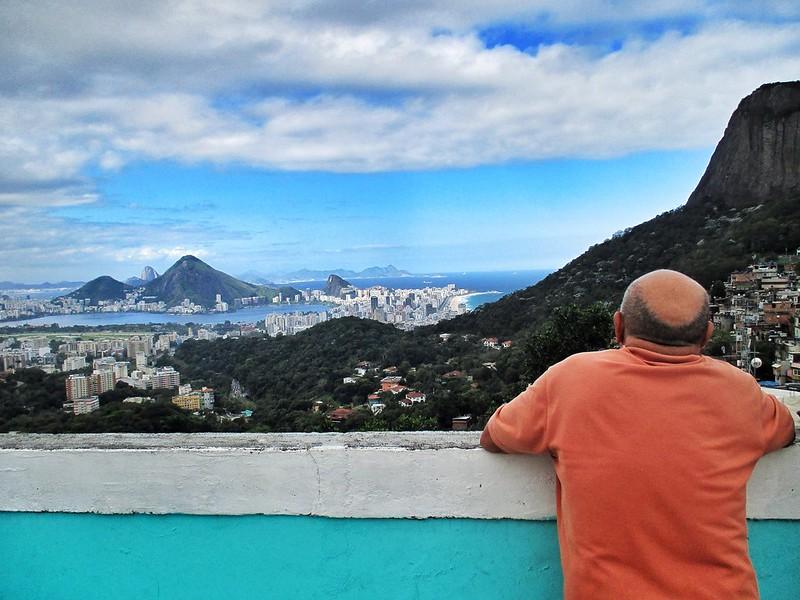 View across Rio from Rocinha