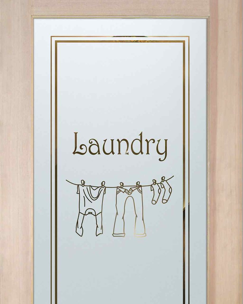 Laundry Room Doors Frosted Glass Clothesline 2 Flickr