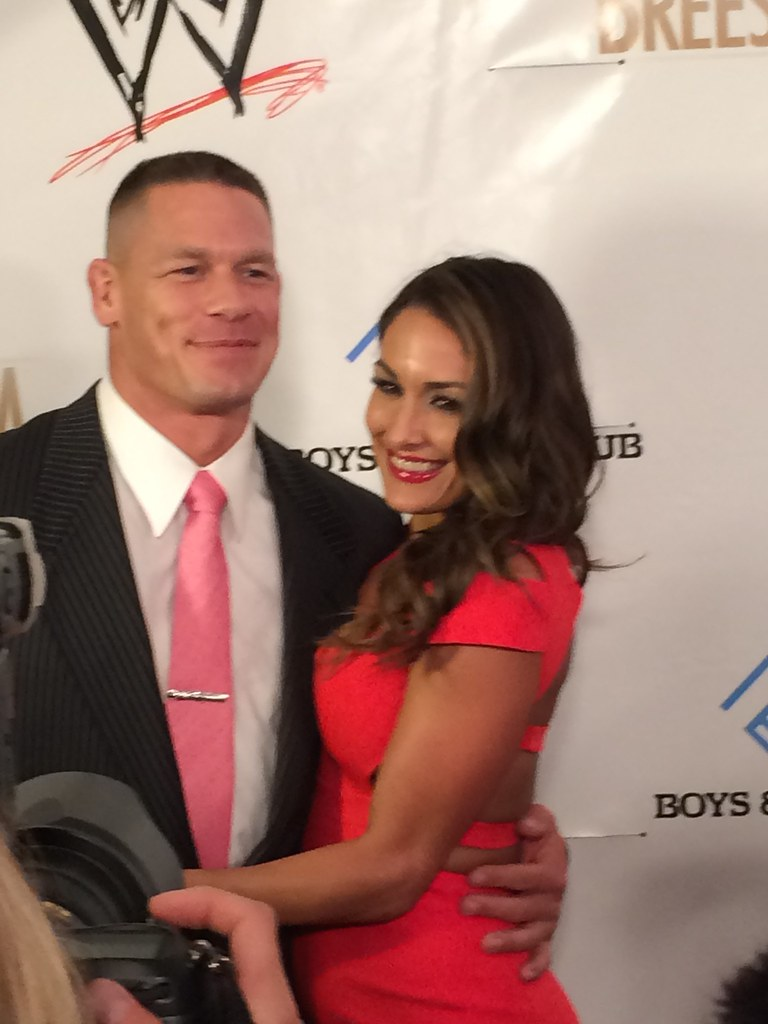 John Cena and Nikki Bella | John Cena and Diva Nikki Bella o… | Flickr