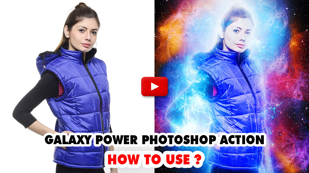 Galaxy Power Photoshop Action - 1