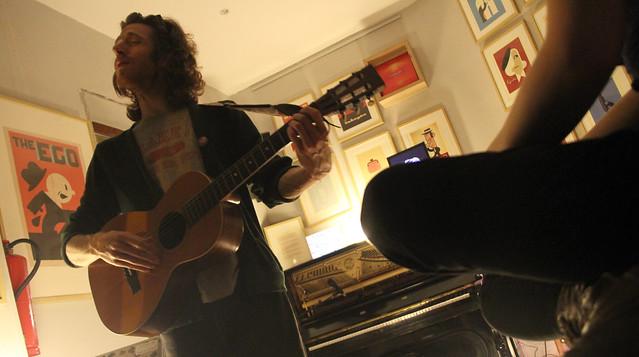 DANIEL MARTIN MOORE EN EL BAR BELMONDO 10.03.17