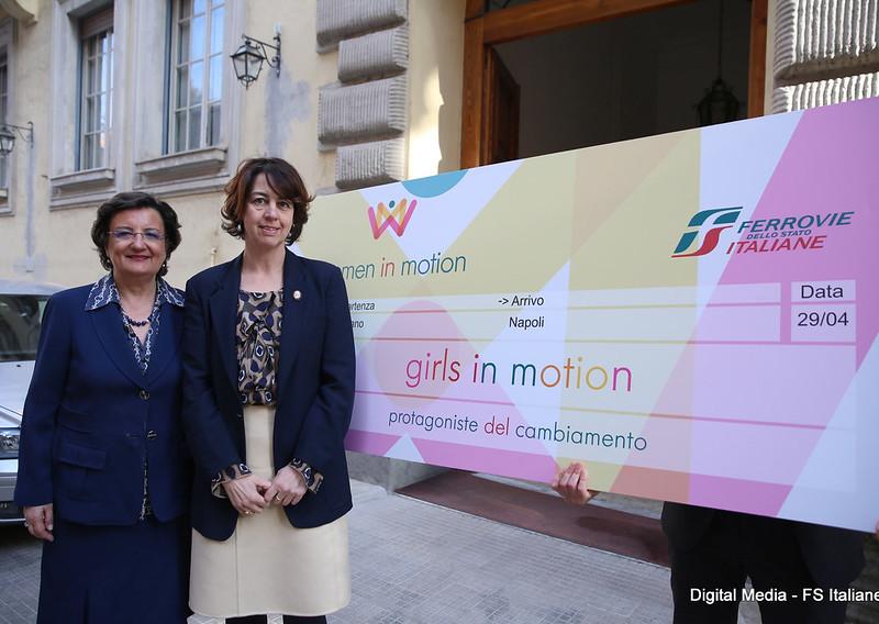 """Presentazione del progetto """"Girls in Motion"""""""