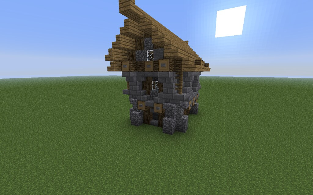 ... Minecraft Town House (Inspired By Madnes64) | By The Wild Eskimo
