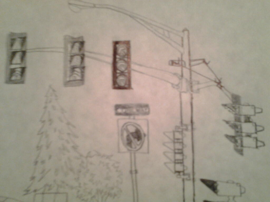 3m Model 131 Traffic Lights Drawing And A Complex Intersec Flickr Light Circuit Diagram By Lewis2567 Intersection