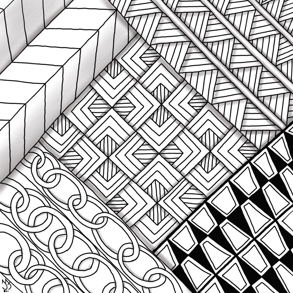 Tangle Patterns New Ideas