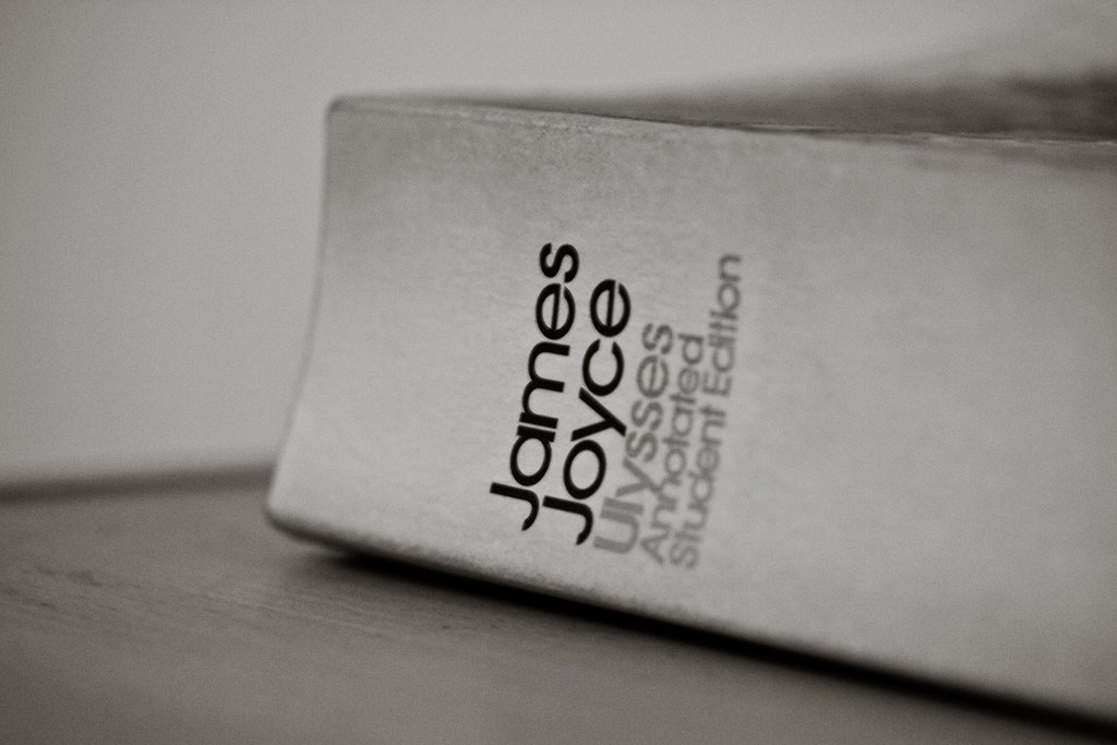 James Joyce Ulysses Book Spine