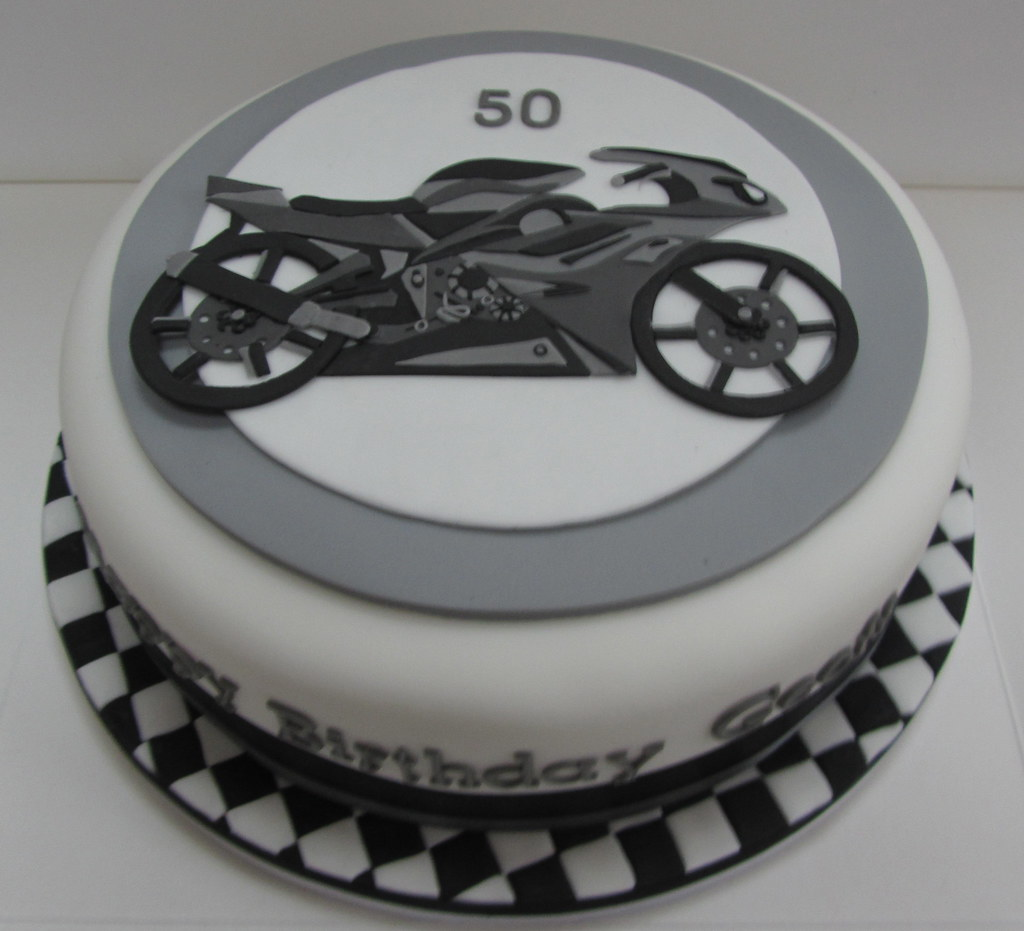 Motorcycle Birthday Cake Justine Flickr