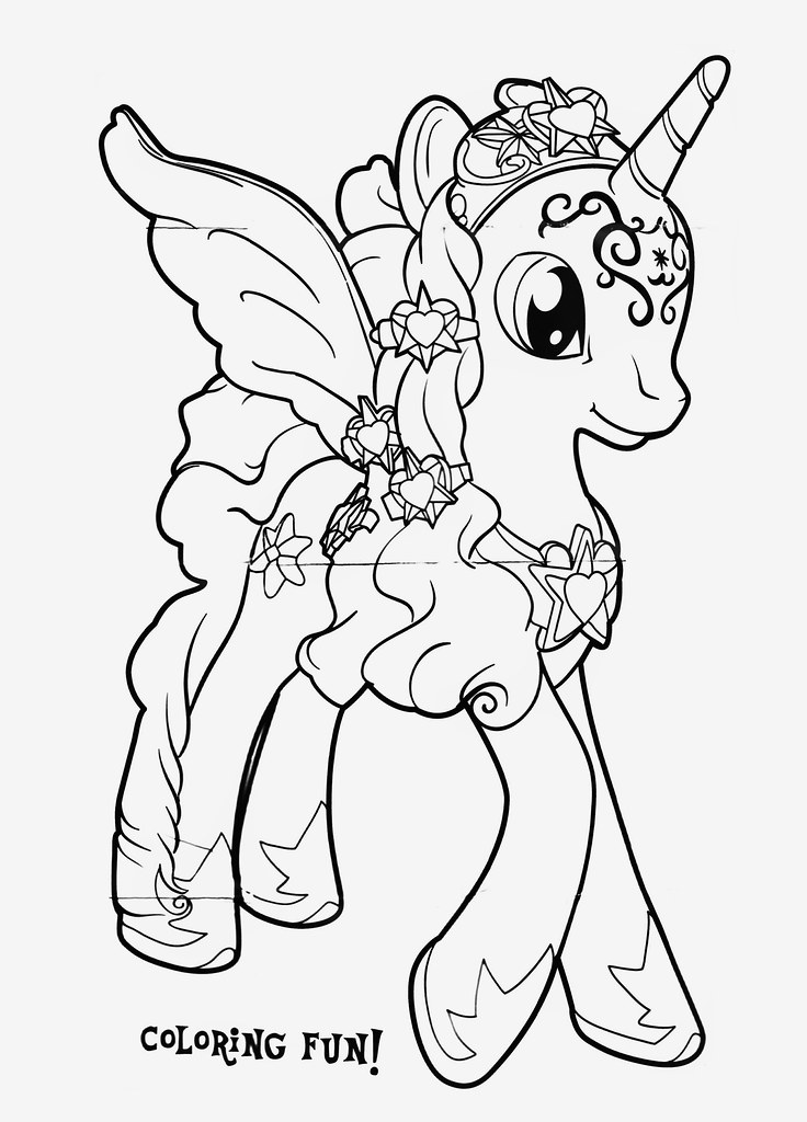 twilight sparkle coloring pages to print - my little pony friendship is magic twilight sparkle
