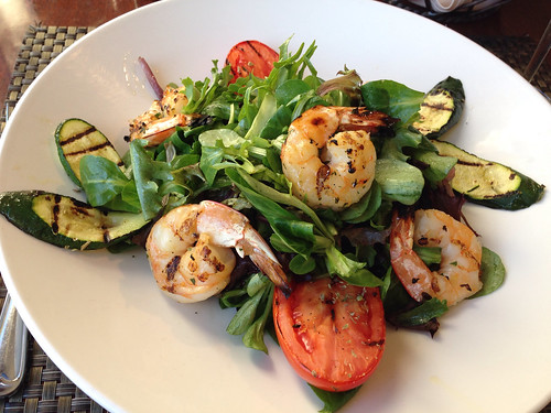 Grilled shrimp and vegetable salad | by Neeta Lind