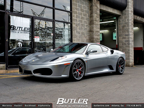 Ferrari F430 With 19in Bbs Fl Wheels Additional Picture