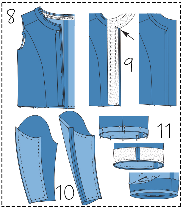 Step 8 9 10 11