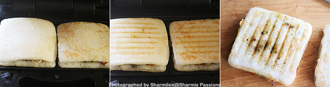 How to make Grilled dosa sandwich recipe - Step7