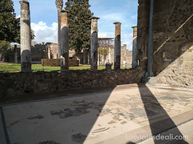 visita a Pompeya casa del fauno