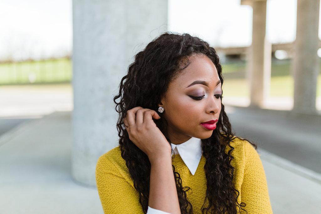 how to wear pink lips on dark skin
