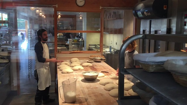 Shaping loaves at Tartine Manufactory