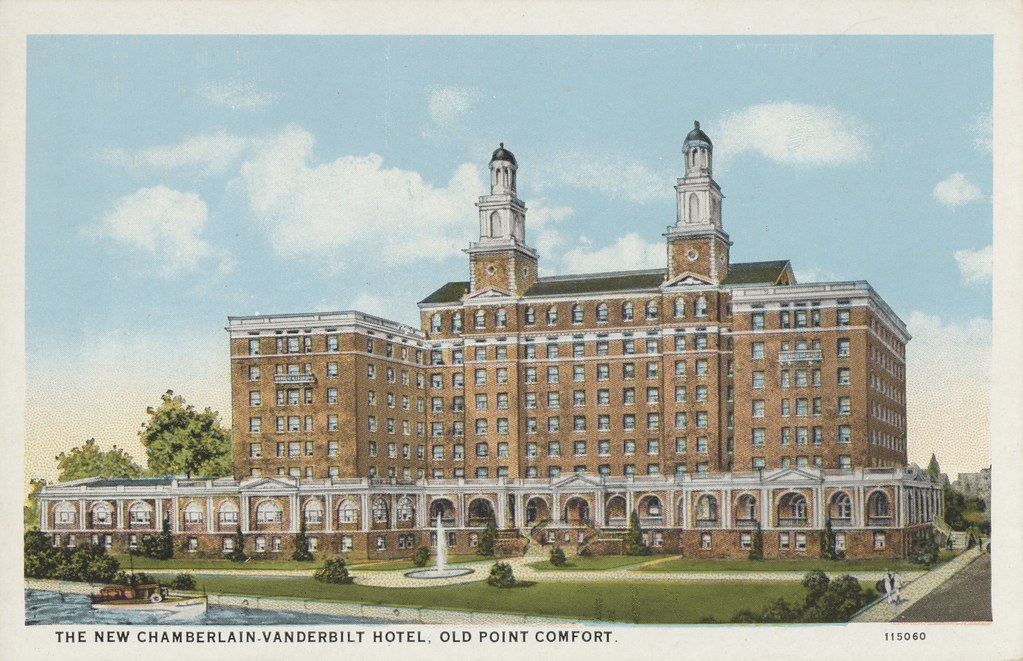 Chamberlain-Vanderbilt Hotel - Old Point Comfort, Virginia