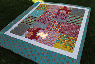Field Study patchwork finish! | by frommartawithlove