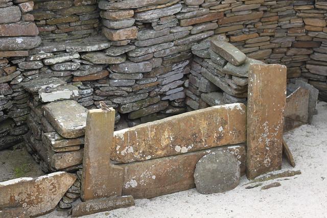 Bed at Skara Brae