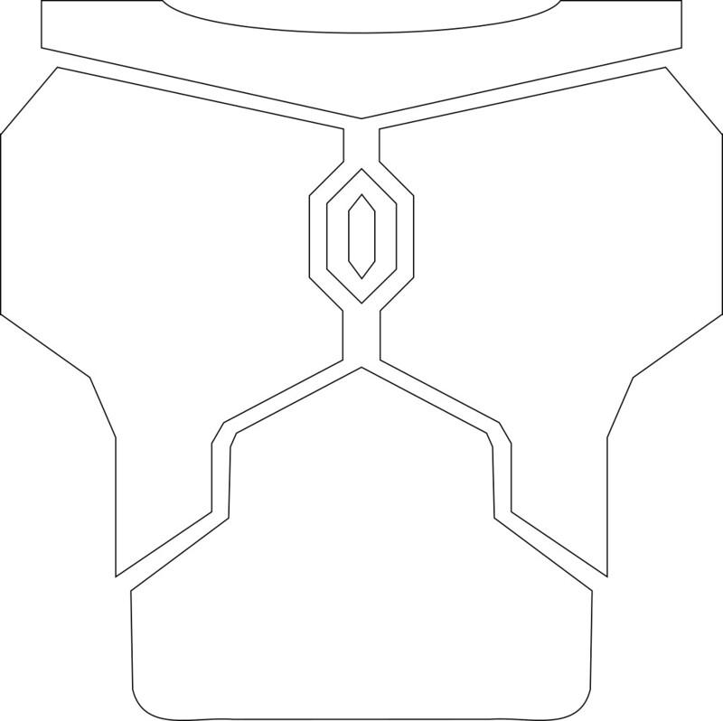 Mandalorian Armor Template Choice Image - template design free download