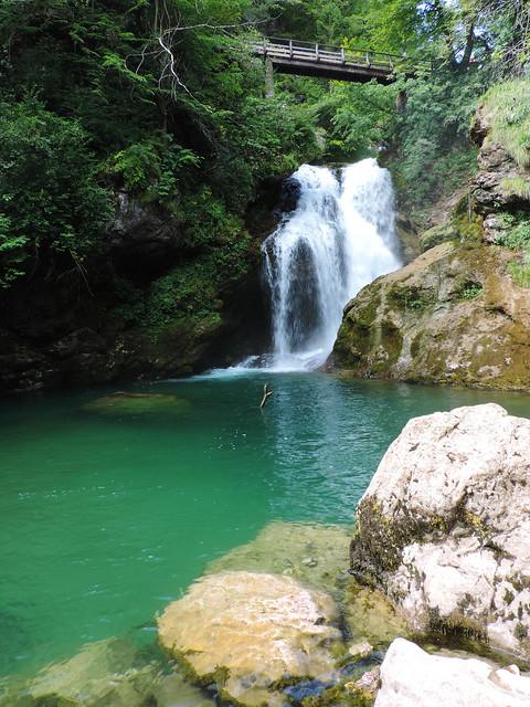 Šum Waterfal, Slovenia