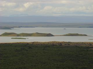 125 Uitzicht op pseudokraters Myvatn