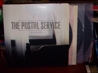 The Postal Service Give Up Deluxe 10th Anniversary Edi