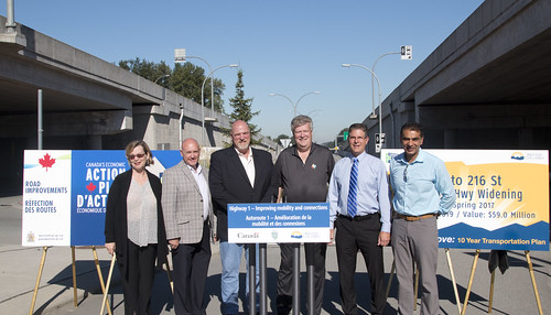 Township of Langley to widen Highway 1, build interchange | by BC Gov Photos