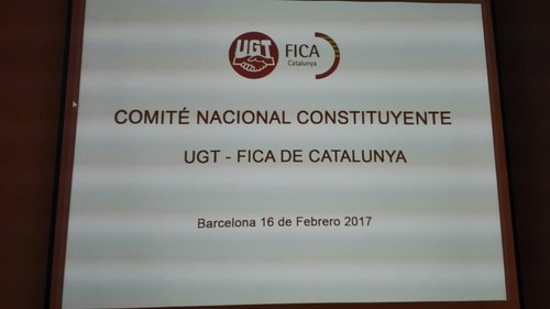 Comité Nacional Constituyente UGT FICA Catalunya