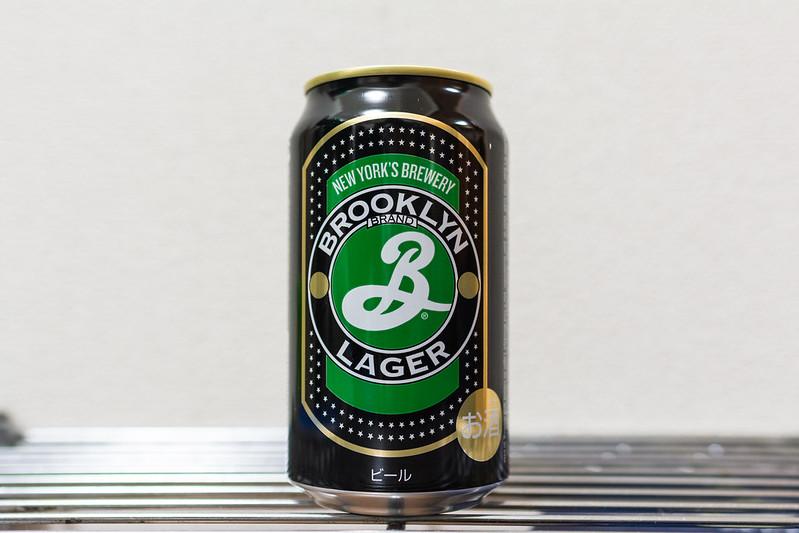 ブルックリンラガー缶の写真