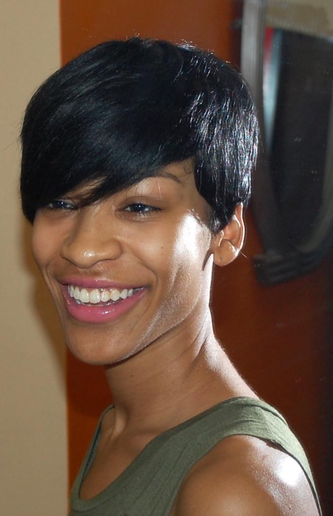 Short Hairstyle For Black Women Woodbridge Va Hair Salon Flickr