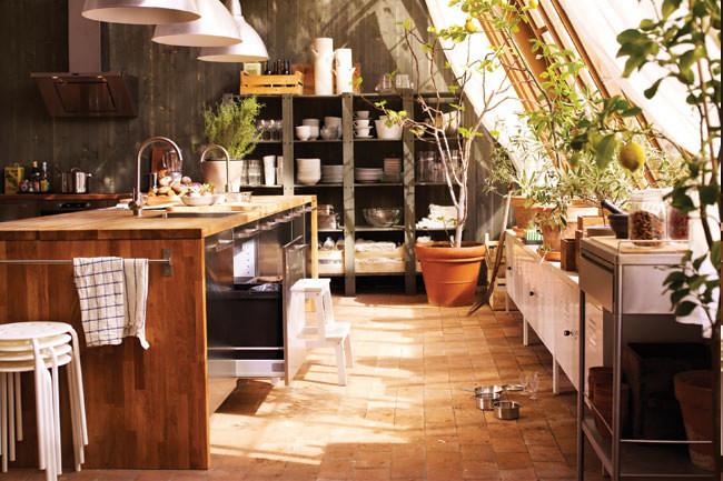 ... Rustic Industrial IKEA Kitchen | By Heath U0026 The B.L.T. Boys