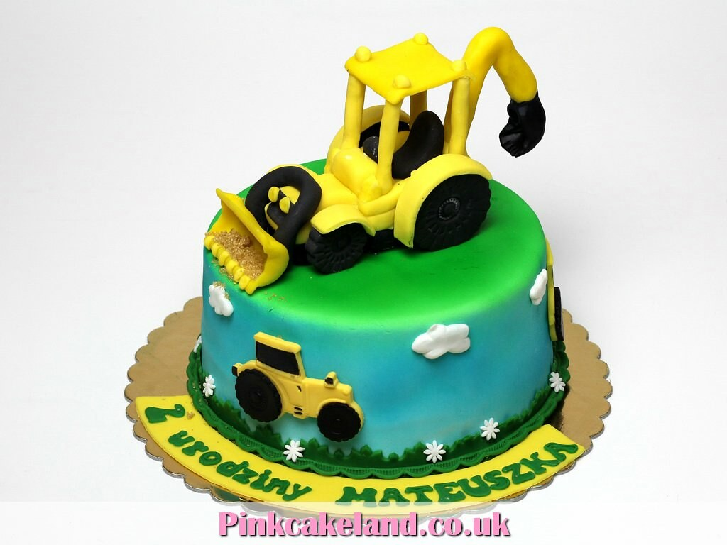 Excavator Birthday Cake London Beatrice Maria Flickr