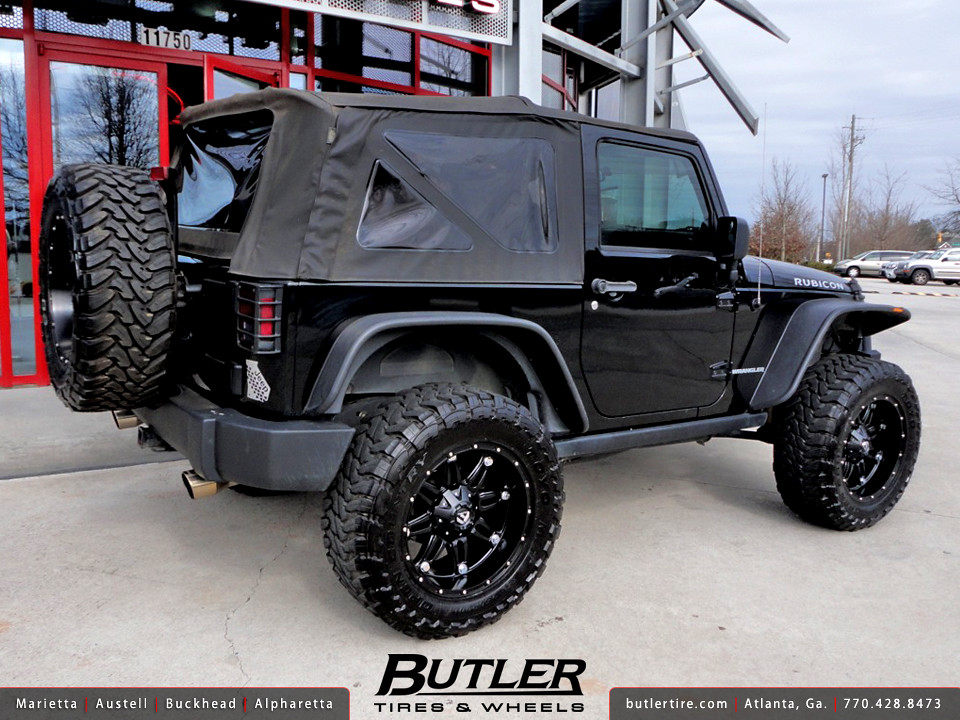 Jeep Wrangler Rubicon With 20in Fuel Hostage Wheels Flickr