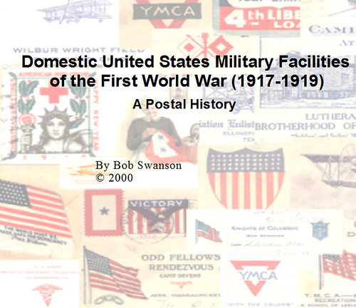 Book Cover for Domestic US Military Facilities of the First World War (1st Edition) | by RV Bob