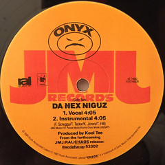 ONYX:SLAM(LABEL SIDE-B)