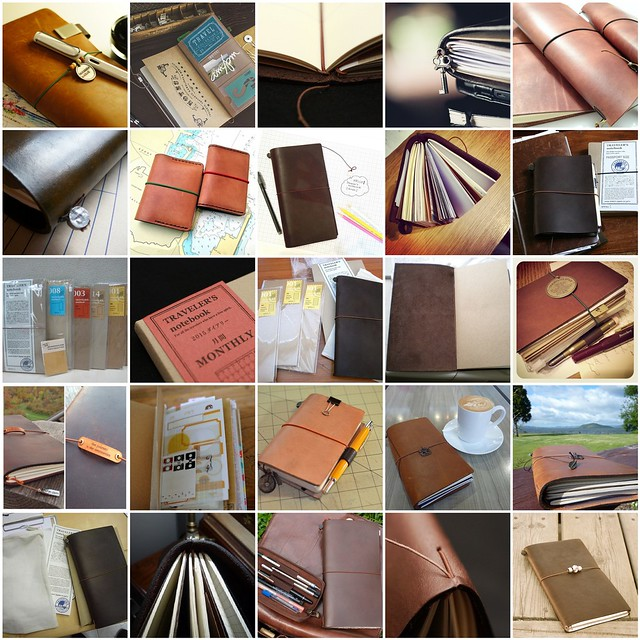 Midori Traveler's Notebook System - a system to Love #inspiration collected by iHanna #midori #travelersnotebook