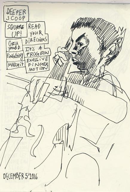 Sketchbook #102: Cello