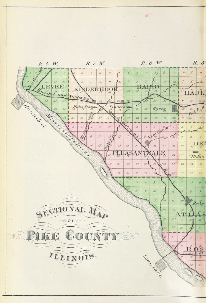 Image Taken From Page 16 Of History Of Pike County Illin Flickr