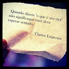 Bom Dia Frases Claricelispector Poetisa Like Flickr