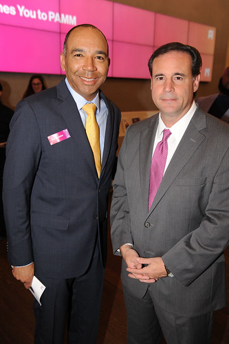 David Duckenfield & Frank Carollo at Fourth Annual Reception for the PAMM Fund for African American Art
