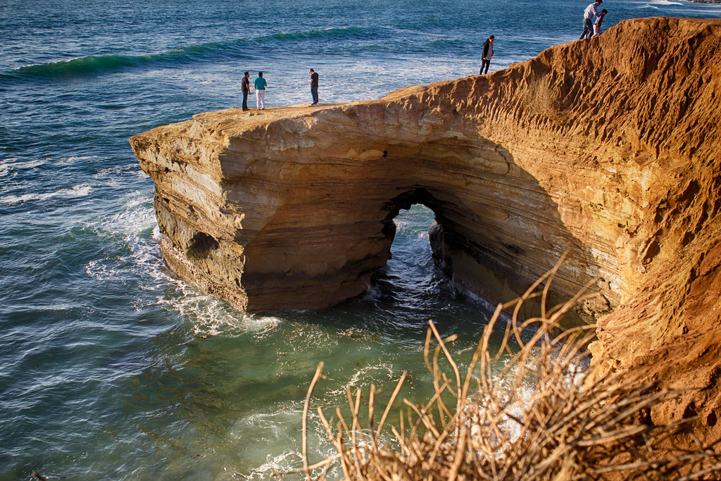 Image result for sunset cliff san diego
